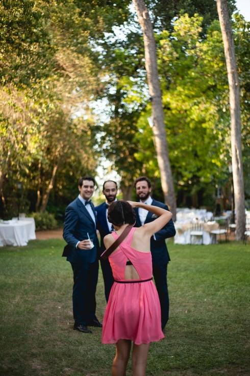 fotografa boda trabajando en Denia.
